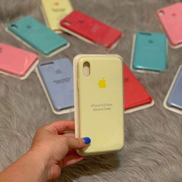 iphone xs max case mellow yellow